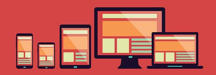 Com uma solução responsiva, o site da sua empresa redimensionará automaticamente de acordo com o dispositivo escolhido pelo usuário.